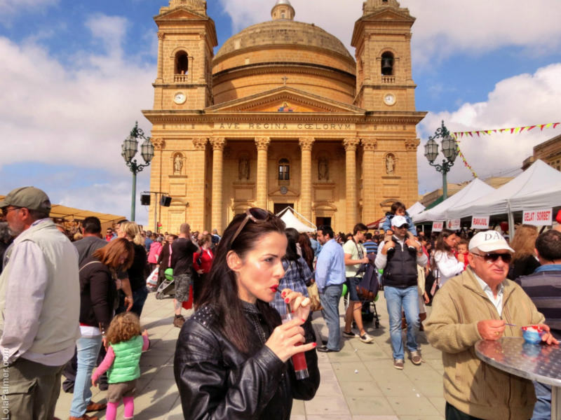 Strawberry Festival Spring Time Mgarr Malta April Event Cupcakes Wine Cocktails Stalls Things To Do In Travel Malta