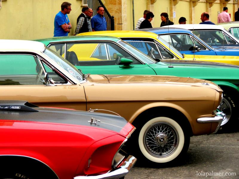 Lola Palmer Malta American Car Show Mellieha May Vintage Mustang Car Motor