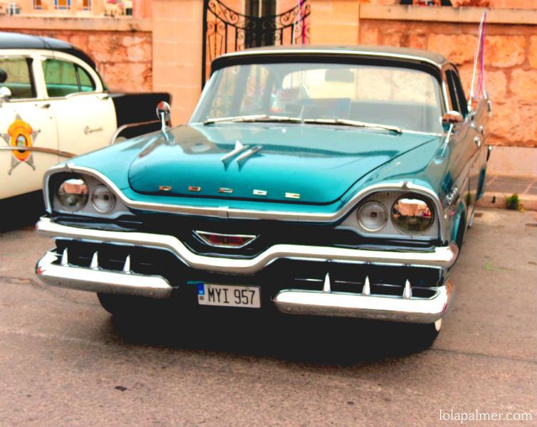 Lola Palmer Malta American Car Show Mellieha May Vintage Car Motor Dodge 57