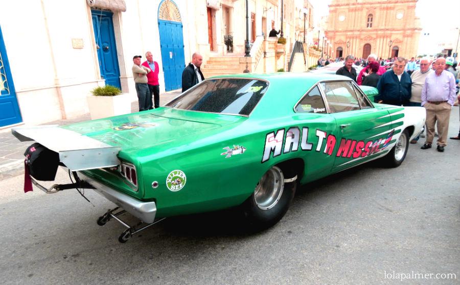 Lola Palmer Malta American Car Show Mellieha May Vintage Car Motor malta Missile Beehive Car Racing